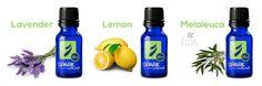 DIY Anti Microbial Fabric Softener:  Epsom salts + lavender + lemon + melaluca