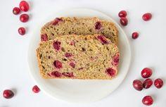 Whole Wheat Cranberry Banana Bread
