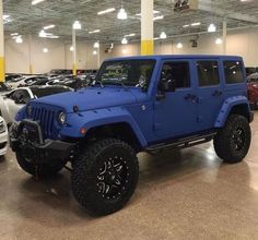 Jeep Wheels Ideas 47 - Cars and motor Auto Jeep, Jeep Cars, Jeep Truck, Jeep Jeep, Suv Trucks, Jeep Wrangler Jk, Jeep Rubicon, Blacked Out Jeep Wrangler, Black Jeep Wrangler Unlimited