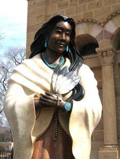 Blessed Kateri Tekakwitha; Santa Fe, St. Francis Cathedral