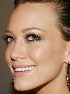 Hilary Duff makeup by raychylle, via Flickr