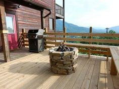 10 reviews and 34 photos for 3 BR Semi Secluded Cabin, 30 Mile View, Fire Pit