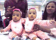 As gêmeas Ana Julia e Ana Carolina já têm o Cadastro de Pessoas Físicas na Certidão de Nascimento, por isso já puderam incluir o número quando foram tirar o RG no Poupatempo Luz.