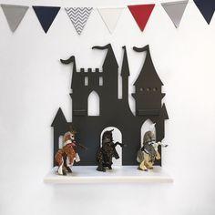 Купить Полка Замок. Для принца - замок, интерьер, полка, Декор, деревянная игрушка