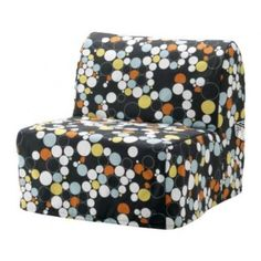 IKEA - LYCKSELE, Chair-bed cover, Bålsta multicolour, , Extra covers to alternate with mean it's easy to give both your sofa and room a new look. Sofa Cama Ikea, Ikea Chair, Chair Bed, Mattress Covers, Bed Covers, Matching Bedding And Curtains, Bedding Sets, Most Comfortable Office Chair, Furniture