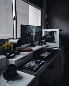 Rate this setup 1-10 Awesome setup by: @thericebucket  Do you want more content like this? Follow me: @clean.desk.setup  Do you want to be featured on my story? Just DM me a good photo of your setup and you are in!  ______________ #deskdecor #minimalist #officedecor #officegoals #workdesk #deskgoals #workhardanywhere #interiordesign #workspace #inspiratio #workspaces #officeinspo #dreamsetup #desktour #workspacegoals #officeinspiration #designyourworkspace #GamingComputerDeskStyle