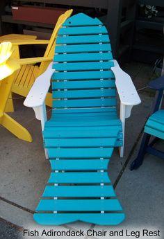 Fish chair, for a fun beach house