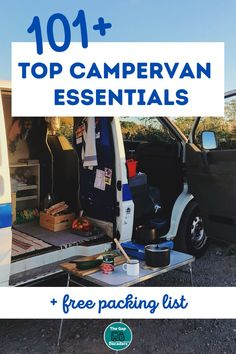 What should you pack in your motorhome or campervan? We made a list of motorhome essentials so you don't have to + a printable packing list to help you remember #motorhomeessentials #motorhomeessentialspackinglist #motorhomeessentialsproducts #motorhomecampingessentials #campervanessentials #campervanessentialslist #essentialsforcampervan Campervan Accessories, Motorhome Accessories, Rv Accessories, Motorhome Living, Motorhome Interior, Motor Home Camping, Motorhome Organisation, Printable Packing List, Happy Campers