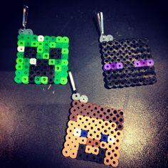 Minecraft perler beads by raycoon