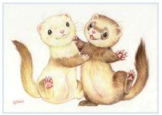 http://www.ferretdaily.com/2013/02/megumi-naito-ferret-illustrations/