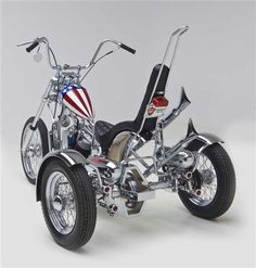 Bikernet is your one and only American Harley Davidson Chopper Custom Motorcycle Online Magazine in the Galaxy. We feature bike fabrications, motorcycles techs, industry news, major events, motorcycle insurance stories and anything that moves. Mini Motorbike, Chopper Motorcycle, Motorcycle Style, Mini Bike, Tricycle Bike, Trike Bicycle, Harley Davidson Images, Harley Davidson Trike, Custom Trikes