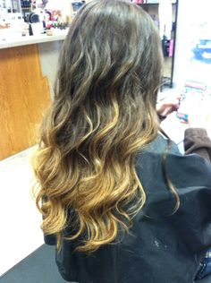 Warm ombre; done by StephJ
