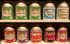 London Kusmi tea room