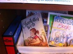 Big Bro's Book box...