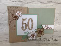 The Craft Spa - Stampin' Up! UK independent demonstrator : Affectionately Yours Double Z Fold Panel Card