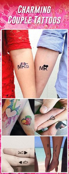 60 Best Couple Tattoos – Meanings, Ideas and Designs for 2016