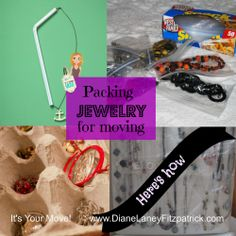 How to pack jewelry for a safe tangle free move it 39 s for How to pack jewelry for moving