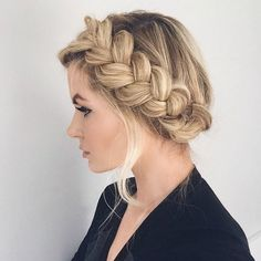 50 Cute and Stylish Updos for Prolonged Hair | Beauty Ideas