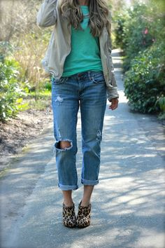 I want a pair of jeans like this to live in!
