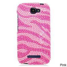 Alcatel OneTouch Fierce 2/7040T Cs Diamond Hot Zebra 302 TPU/PC Phone Case #PH-PDACTL7040TS3