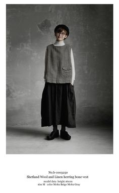 BerryStyle: The Joie de Vivre Shetland wool linen herringbone best Mori Fashion, Grey Fashion, Fashion Sewing, Timeless Fashion, Korean Fashion, Cool Outfits, Casual Outfits, Fashion Outfits, Shetland Wool