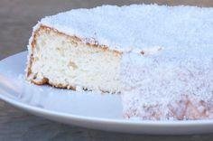 TORTA ANGEL / Old fasioned angel cake - Torta angel de claras - MABEL