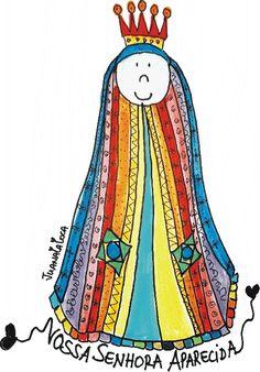 Nossa Senhora Aparecida!
