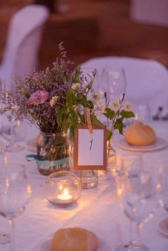Table ideas. http://flyawaybride.com/rustic-destination-wedding-spain/ Photography: Nadine van Biljon | Venue: Rancho del Ingles | Florist: Viveros Guzman | #WeddinginSpain #Venue #Destinationwedding