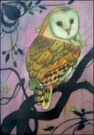 Image result for owl paintings
