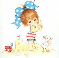 Suzy Angel | SUZY ÁNGEL Calendario Ilustraciones para manualidades, SOUVENIRS ...
