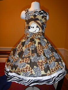 Minnie Safari Animal print Bow Dress Animal Kingdom?