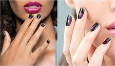 Nail art: manicuras bicolor