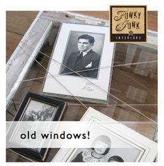 Sat Nite Special 120 - old windows! | Funky Junk InteriorsFunky Junk Interiors