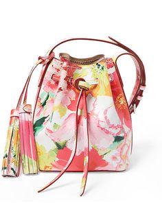 Mini Cross-Body Bucket Bag - Polo Ralph Lauren Hobos & Shoulder Bags - RalphLauren.com