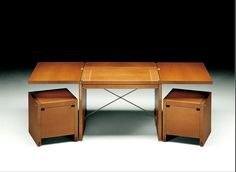 If It's Hip, It's Here: Desks So Beautiful, They'll Turn Anyone Into A Workaholic.