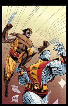 Fastball Special •David Williams * Wolverine and Colossus of the X-MEN: Marvel Comics