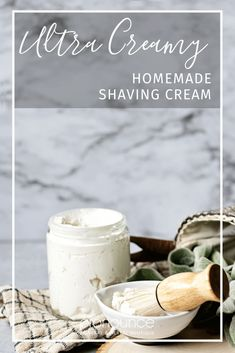 Ultra Creamy Homemade Shaving Cream Recipe • Pronounce Skincare & Herbal Boutique