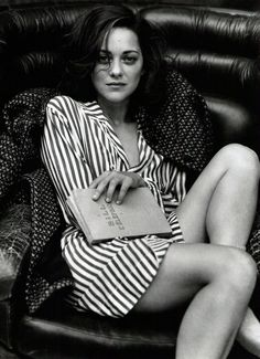 Marion Cotillard - love this picture