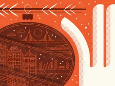 Warm wishes from San Francisco! Holiday card by nate luetkehans