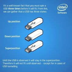 Quantum physics explains USB drives