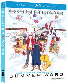 Summer Wars DVD/Blu-ray (Hyb)  Such a great movie. Simply amazing