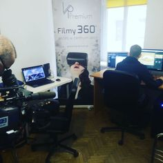 An awesome Virtual Reality pic! #tv #visiting us today in our #office :) #vrpremium #vr #virtualreality #camera #fame #broadcast #journalism #media #television #press #coverage by vrpremium check us out: http://bit.ly/1KyLetq