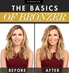 The Basics of Bronzer // How to use bronzer the right way