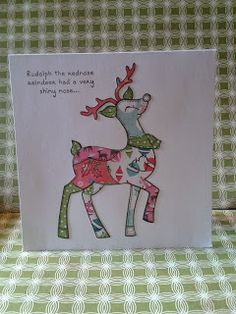 Welcome to Christmas 2015, Christmas Crafts, Christmas Ideas, Xmas Bells, Square Card, Some Cards, My Stamp, Xmas Cards, Paper Piecing