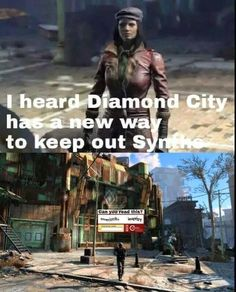 Synth You've Been Gone #Fallout4