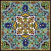 Shop für Mosaikfliesen, Bruchmosaik, Mini Mosaiksteine, Mosaik Bastelbedarf und orientalische Fliesen -  Orientalische Fliesen 75x75cm