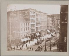Broadway and Canal Street, 1880