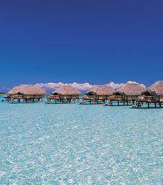 Overwater Bungalow Honeymoons in Tahiti