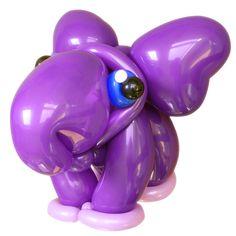 Purple Elephant Twist Balloon