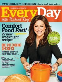 There are some delicious looking recipes in the March 2015 issue of Every Day with Rachael Ray. Available now at Zinio! #svpl #zinio #digital #magazine #rachaelray #recipes #comfortfood